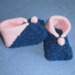 modele chausson bébé tricot facile gratuit #7