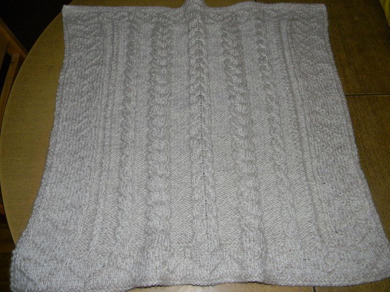 modele de couverture tricot pour bebe gratuit #13