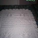 modele de couverture tricot pour bebe gratuit #17