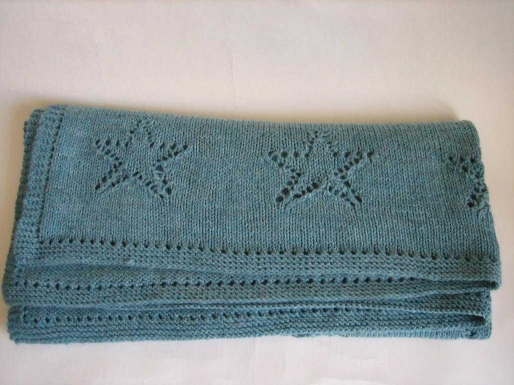 modele de couverture tricot pour bebe gratuit  7