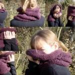 modele de tricot tour de cou #16