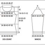 modele pour tricoter un gilet #17