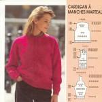 modele pour tricoter un gilet #3