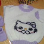 modele pull hello kitty a tricoter #10