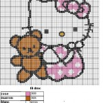 modele pull tricot hello kitty gratuit #11