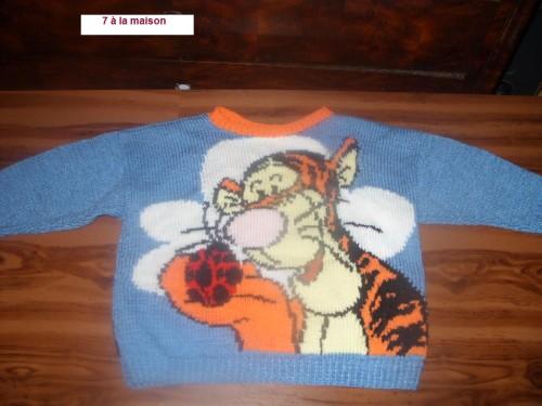 modele pull tricot hello kitty gratuit #16