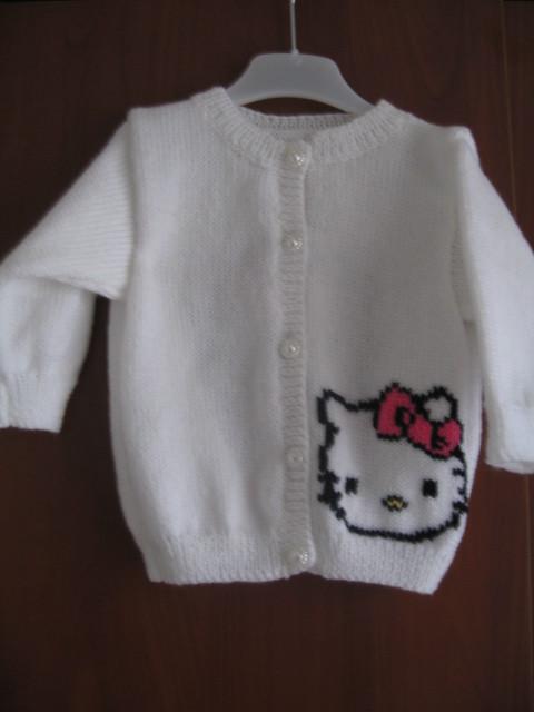 modele pull tricot hello kitty gratuit #4