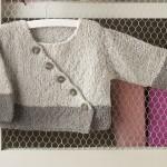 modele tricot bébé cache coeur #4