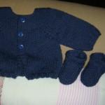 modele tricot bebe ete #7