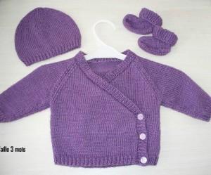 modele tricot bebe gratuit #18