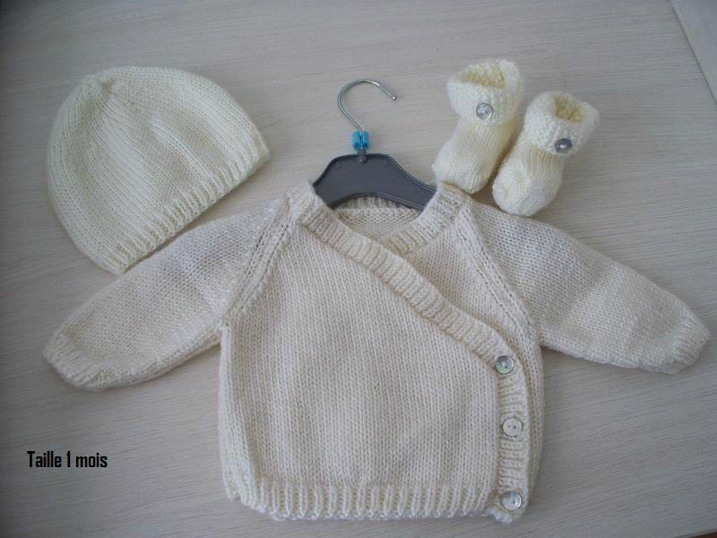 modele tricot bebe gratuit bergere de france #13