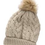 modele tricot bonnet femme torsade #4