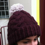 modele tricot bonnet femme torsade #6