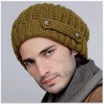 modele tricot bonnet homme gratuit #16