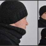 modele tricot bonnet homme gratuit #2