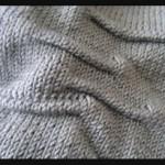 modele tricot echarpe jersey #12