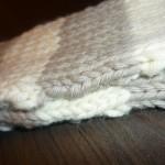 modele tricot echarpe jersey #13