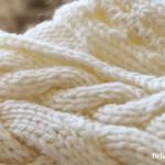 modele tricot echarpe jersey #16