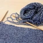 modele tricot echarpe jersey #3