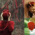 modele tricot echarpe renard #11