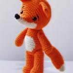 modele tricot echarpe renard #12