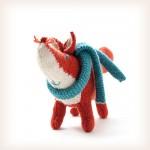 modele tricot echarpe renard #13