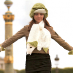 modele tricot echarpe renard #14
