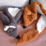 modele tricot echarpe renard #15