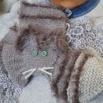 modele tricot echarpe renard #16