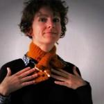 modele tricot echarpe renard #17