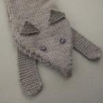 modele tricot echarpe renard #18