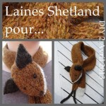 modele tricot echarpe renard #2