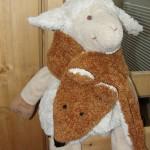modele tricot echarpe renard #3