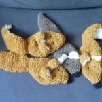 modele tricot echarpe renard #5