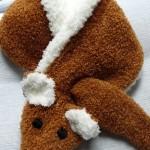 modele tricot echarpe renard #6
