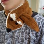 modele tricot echarpe renard #9