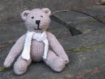 modele tricot facile doudou #9