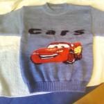 modele tricot facile the cars #10