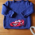 modele tricot facile the cars #16