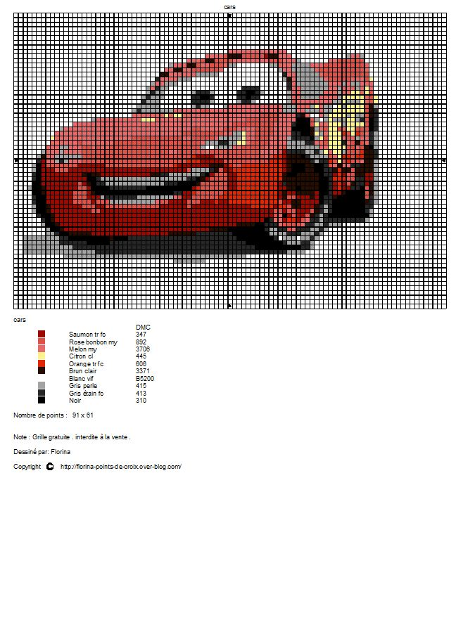 modele tricot cars