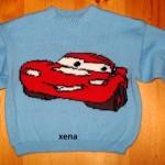 modele tricot facile the cars #7