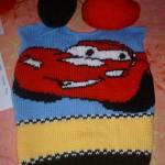 modele tricot facile the cars #8