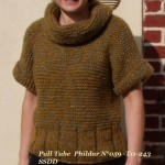modele tricot facile tube #11