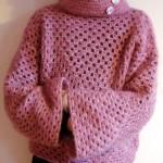 modele tricot facile tube #13