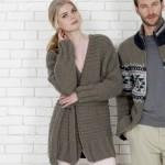 modele tricot facile tube #18