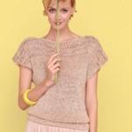 modele tricot facile tube #4