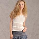 modele tricot facile tube #5