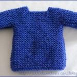 modele tricot facile tube #7