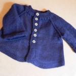 modele tricot gilet facile #12