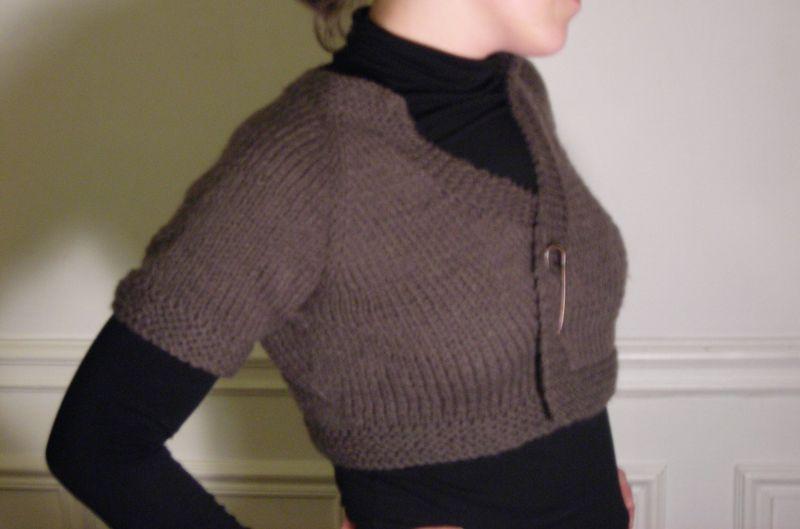 Photo tricot modele tricot gilet facile 15 - Modele mitaine tricot facile ...